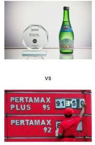 Equil VS Pertamax
