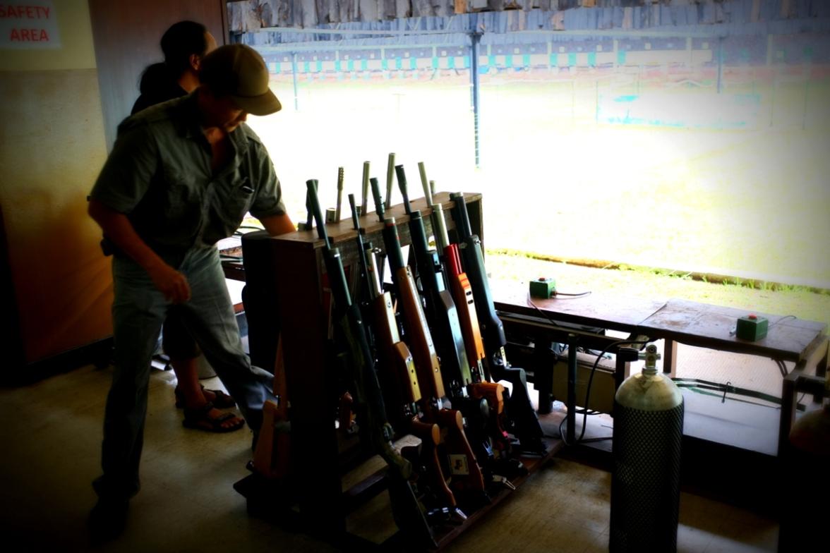 Air Gun rack