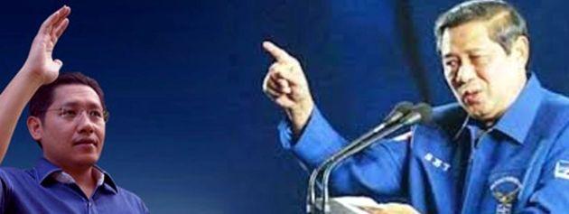 Anas Urbaningrum VS Susilo Bambang Yudhoyono (SBY)