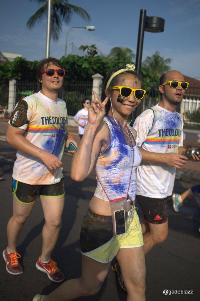 Colour run Jakarta 2014