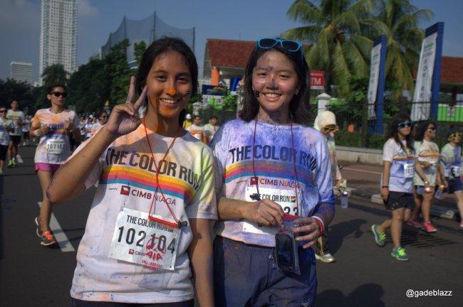 color run Jakarta 2014
